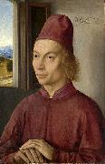 Dieric Bouts Portrait of a Man oil painting artist