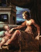Francesco Parmigianino Virgin and Child oil painting on canvas