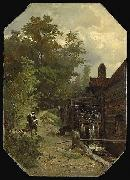 Gerard Bilders Jacob van Ruisdael oil painting reproduction