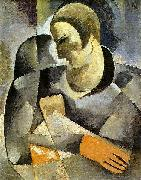 Ismael Nery Self-portrait oil painting artist