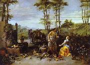 Jan Breughel Noli me tangere oil painting reproduction