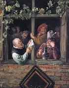Jan Steen Rhetoricians at a Window Sweden oil painting artist