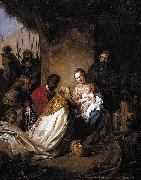 Jan de Bray The Adoration of the Magi oil painting artist