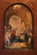 Karel van Mander The Adoration of the Shepherds oil painting artist