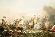 Ludolf Bakhuizen The Battle of Barfleur, 19 May 1692 oil painting reproduction