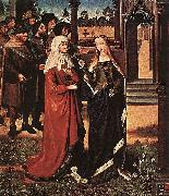 Master of the Legend of St. Lucy Scene from the St Lucy Legend oil painting reproduction