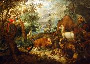 Roelant Savery Noah's Ark. oil painting reproduction
