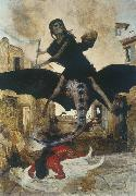 Arnold Bocklin Plague oil