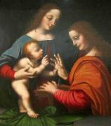 BASAITI, Marco Mystical Marriage of Saint Catherine oil painting artist