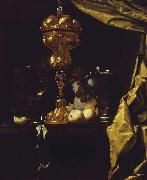 COUWENBERGH, Christiaen van Still Life with a Silver Gilt Cup oil painting artist