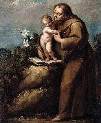 Carlo Francesco Nuvolone St Anthony of Padua and the Infant Christ oil