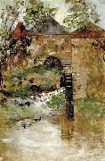 GAINSBOROUGH, Thomas The watermill oil painting artist