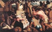 Jacopo Bassano The Adoration of the Shepherds oil painting