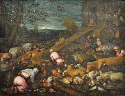 Jacopo Bassano Entry into the Ark oil painting on canvas