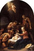 Adriaen van der werff The Adoration of the Shepherds oil