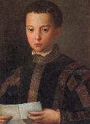 Agnolo Bronzino Portrait of Francesco I as a Young Man oil painting picture wholesale