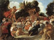 Anastagio Fontebuoni St.john the Baptist Preaching oil painting artist