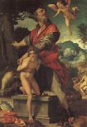 Andrea del Sarto The Sacrifice of Abraham oil painting picture wholesale
