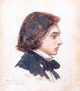 Arthur Devis Self-Portrait oil painting artist