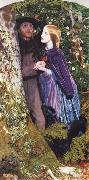 Arthur Hughes The Long Engagement oil