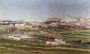 Aureliano De Beruete Y Moret Tthe Outskirts of Madrid oil painting picture wholesale