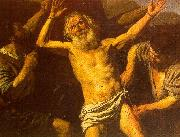 Boulogne, Valentin de The Martyrdom of St. Bartholomew oil painting picture wholesale