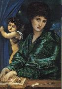 Burne-Jones, Sir Edward Coley Portrait of Maria Zambaco oil painting picture wholesale