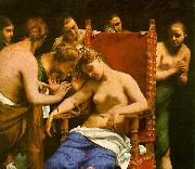 CAGNACCI, Guido The Death of Cleopatra oil painting picture wholesale