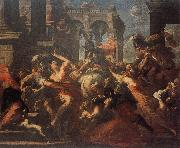 CASTELLO, Valerio The Rape of the Sabine Woman oil painting picture wholesale