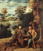 CIMA da Conegliano St.Jerome in the Desert oil painting picture wholesale