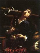 Cairo, Francesco del Herodias with the Head of St. John the Baptist oil painting artist
