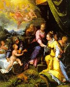 Calvaert, Denys The Mystic Marriage of St. Catherine oil