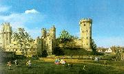 Canaletto Warwick Castle- The East Front oil painting picture wholesale