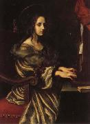 Carlo Dolci St.Cecilia oil painting artist