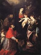 Cerano Madonna and Child with SS.Francis,Charles,and Catherine of Alexandria oil