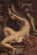 Charles Lebrun Daedalus and Icarus oil painting artist