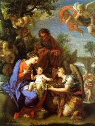 Chiari, Giuseppe The Rest on the Flight into Egypt oil painting picture wholesale