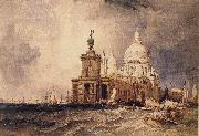 Clarkson Frederick Stanfield Venice:The Dogana and the Salute oil painting picture wholesale
