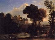 Claude Lorrain Italian Landscape oil painting picture wholesale
