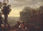Claude Lorrain Landscape with Acis and Galathe oil painting picture wholesale