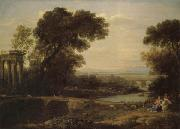 Claude Lorrain Noon oil painting picture wholesale