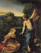 Correggio Noli me tangere oil painting reproduction