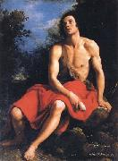 Cristofano Allori St.John the Baptist in the Desert oil