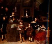 Diego Velazquez The Family of the Artist (df01) oil painting picture wholesale