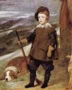 Diego Velazquez Prince Baltasar Carlos in Hunting Dress(detail) oil painting picture wholesale