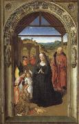 Dieric Bouts The Annunciation,The Visitation,THe Adoration of theAngels,The Adoration of the Magi oil painting picture wholesale