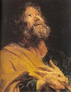 Dyck, Anthony van The Penitent Apostle Peter Sweden oil painting reproduction