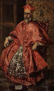 El Greco Portrait of a Cardinal oil painting picture wholesale