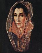 El Greco Portrait of a Lady oil painting picture wholesale