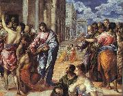 El Greco The Miracle of Christ Healing the Blind oil painting picture wholesale